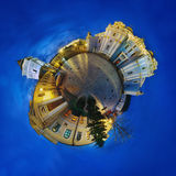 Spherical panorama of 360 degrees Royalty Free Stock Image