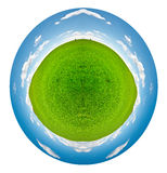 Spherical Panorama Stock Images
