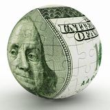 Spherical puzzle Stock Photos