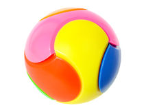 Spherical puzzle Royalty Free Stock Photo