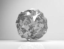 Spherical shape from triangles Stock Photography