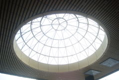 Spherical structure roof Royalty Free Stock Photos