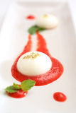 Spherical Yogurt Stock Photo