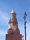 Sphinx στη Αγία Πετρούπολη Στοκ φωτογραφίες με δικαίωμα ελεύθερης χρήσης