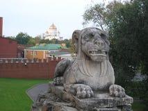 Sphinx στον τοίχο του Κρεμλίνου Στοκ φωτογραφία με δικαίωμα ελεύθερης χρήσης