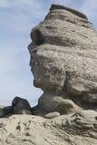 Sphinx στο ρουμανικό εθνικό πάρκο Bucegi Στοκ εικόνες με δικαίωμα ελεύθερης χρήσης