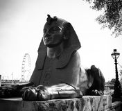 Sphinx του Λονδίνου Στοκ Φωτογραφίες