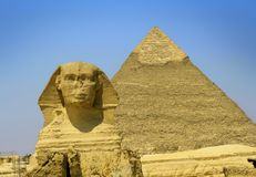 sphinx fotografering för bildbyråer