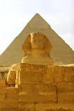 Sphinx. Near Giza pyramids, Egypt Royalty Free Stock Photos