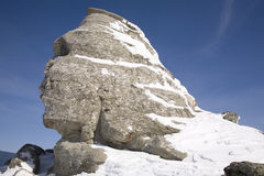 Sphinx. The sphinx from romanian mountains Stock Images