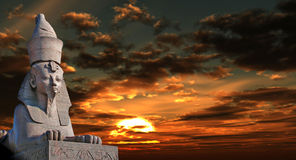 sphinx Royaltyfri Fotografi