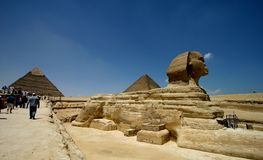 Sphinx. Egypt: sphinx Royalty Free Stock Image