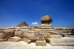 Sphinx. Egypt: Sphinx Stock Photo