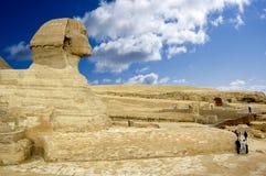 Sphinx stockfoto