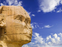 The Sphinx. Of Giza close up. Egypt series Stock Photo