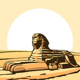 Sphinx. Royalty Free Stock Photography