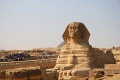 Sphinx antico di Giza Fotografia Stock Libera da Diritti