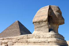 Sphinx au Caire Image stock