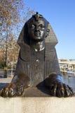 Sphinx auf London-Damm Lizenzfreie Stockbilder