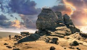The Sphinx, Babele, Platoul Bucegi - Greatness royalty free stock photos