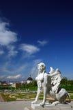 Sphinx.Belvedere, Viena imagem de stock