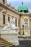 Sphinx.Belvedere, Wenen royalty-vrije stock fotografie