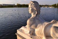 Sphinx blanc Photo stock