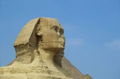 Sphinx cairo egypt. An ancient wonder of the world sphinx cairo egypt Stock Image