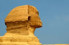 Sphinx cairo egypt Stock Images