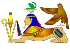 Sphinx - creature of ancient Egypt Stock Photos