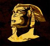 Sphinx de Grunge Imagens de Stock Royalty Free