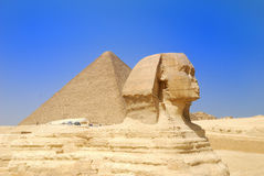 sphinx de l'Egypte Photo stock