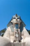 Sphinx dell'hotel di Luxor Fotografia Stock