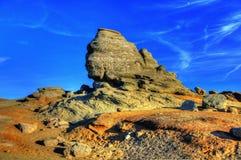 Sphinx des montagnes de Bucegi Photographie stock