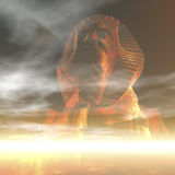 Sphinx. Digital visualization of a sphinx Stock Photos