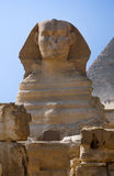 Sphinx e pirâmide fotos de stock royalty free