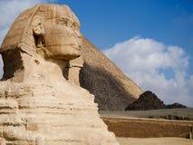 Sphinx Egipto Foto de Stock Royalty Free