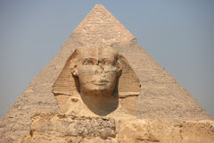 Sphinx in Egypt Royalty Free Stock Photos