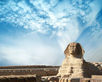 The sphinx in Egypt. Stock Image