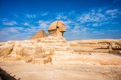sphinx Egypte stock afbeelding