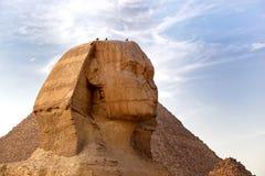 Sphinx Egypten Royaltyfria Foton