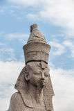 Sphinx on embankment  of the Neva River, St. Petersburg Royalty Free Stock Images
