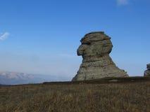 Sphinx en pierre Photos libres de droits