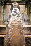 Sphinx Fountain. In Paris, (France Royalty Free Stock Photos