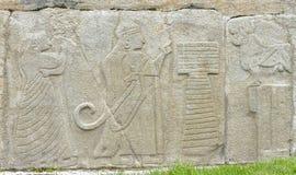 Sphinx Gate of Alacahoyuk Royalty Free Stock Images