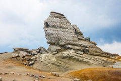 The Sphinx - Geomorphologic rocky structures Stock Images
