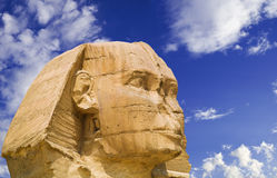 The Sphinx of Giza Stock Image