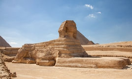 The Sphinx of Giza Royalty Free Stock Photos