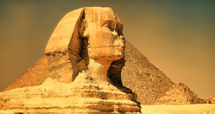 The sphinx of Giza. 4th Dynasty 2600 B.C Stock Photo