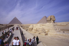 Sphinx Gizeh Royalty Free Stock Images